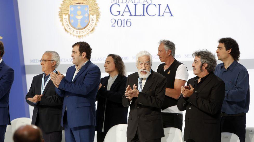 Las imágnes del acto de entrega de las Medallas de Ouro de Galicia