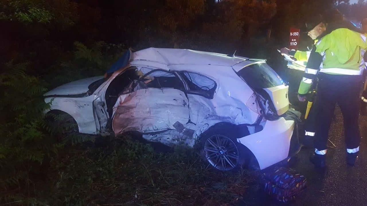 Fallece una joven de 20 años en un accidente en Barro.