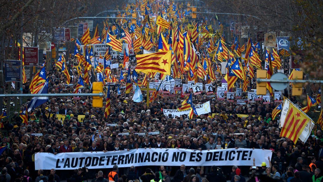 Un acto de Alternativa Galega de Esquerda