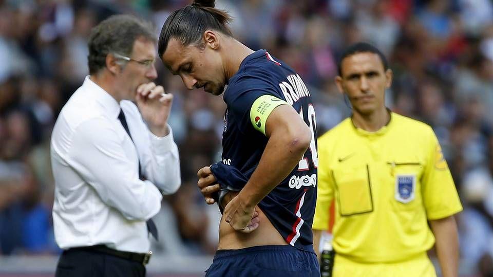 Toda la actualidad de la Liga de Campeones.Ibrahimovic, lesionado