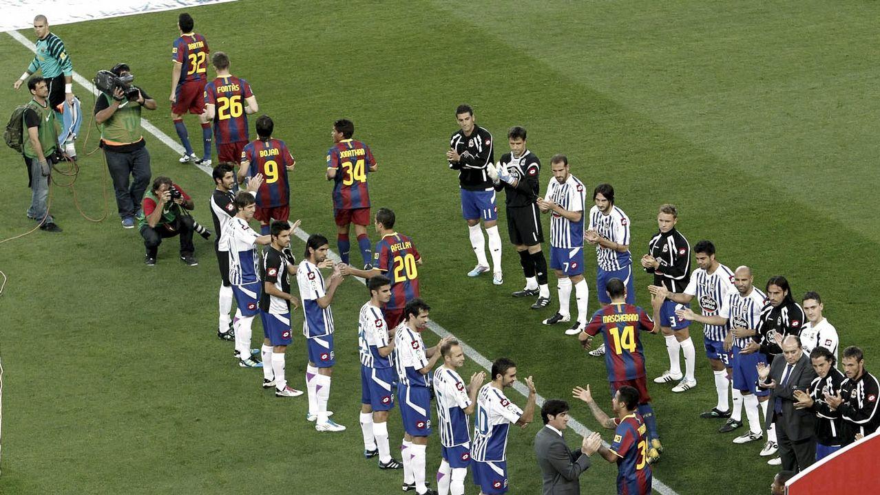 Las mejores imágenes de la celebración liguera del Barça