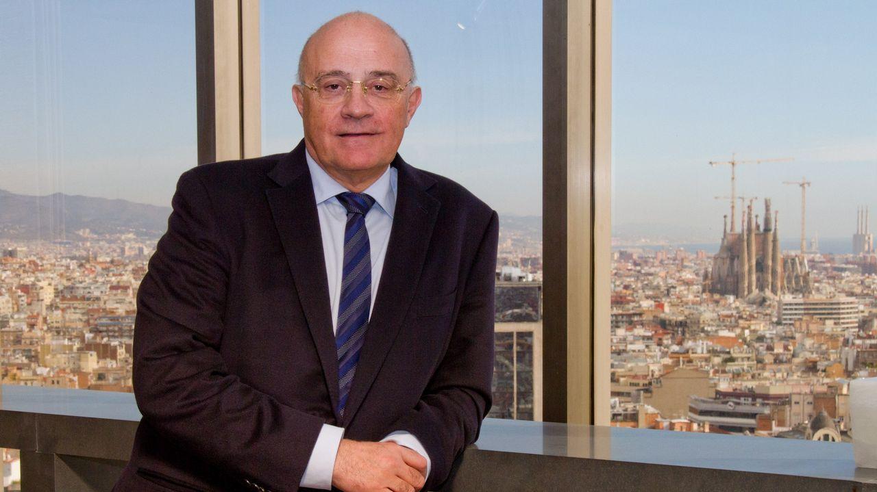 .José Oliu, presidente del Sabadell, en la sede del banco en Barcelona