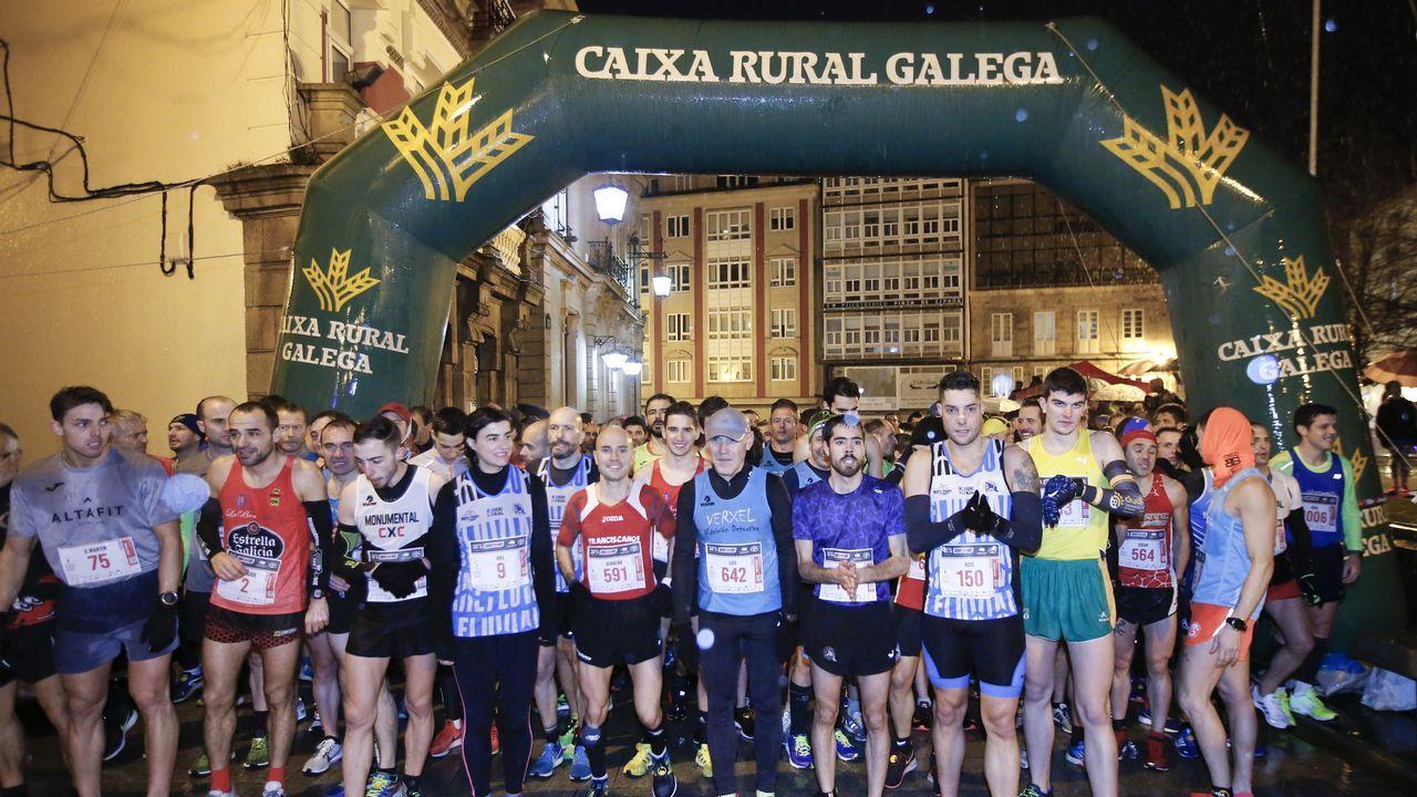 Iván Puentes y Nerea García ganan el cros Muíño de Pedroso