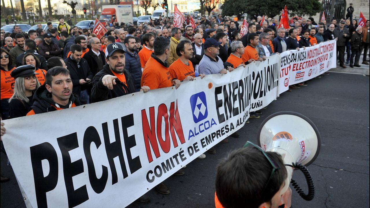 Alcoa, manifestación
