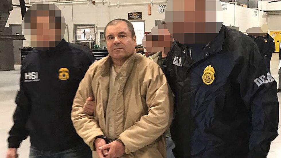 La extradición del Chapo Guzmán a Estados Unidos.Javier Valdez, periodista mexicano asesinado en Sinaloa