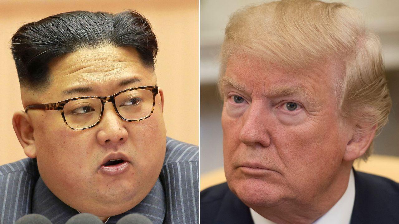 .Kim Jong-Un y Donald Trump