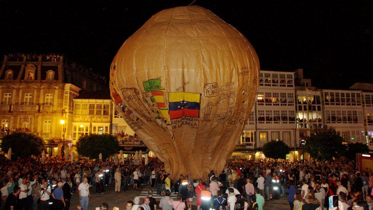 Esta vez el globo de Betanzos no voló