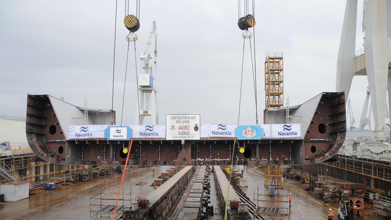 Nervión es el principal subcontratista de Navantia en el sector de la eólica marina