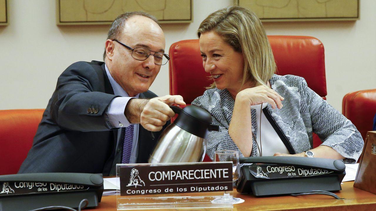 .El gobernador del Banco de España, Luis María Linde