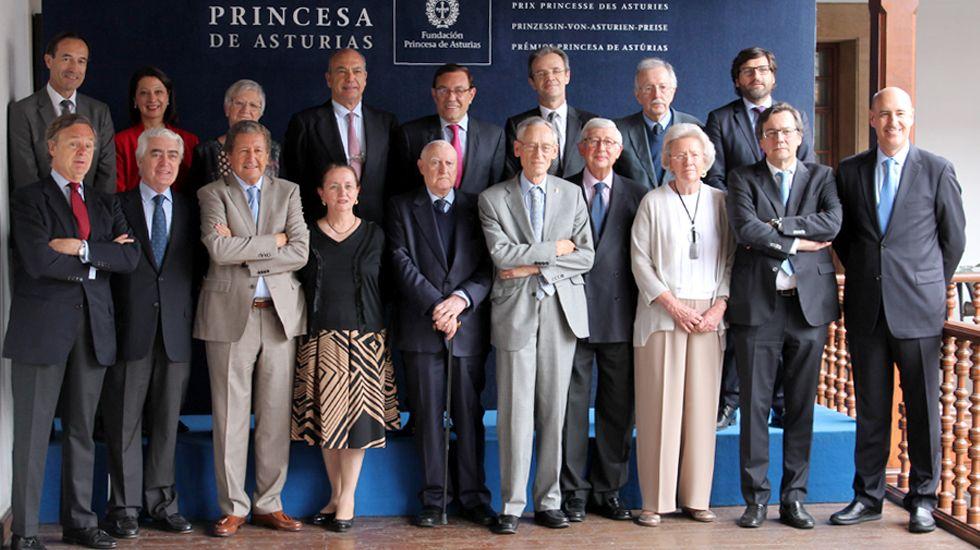 Letizia Ortiz.El jurado de Premio Princesa de Asturias de Ciencias Sociales 2017