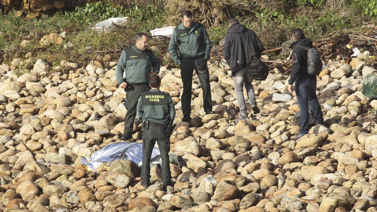 Recuperan el cadáver del joven ecuatoriano desaparecido mientras pescaba.Mauricio Aufiero es el líder del PP en Camariñas