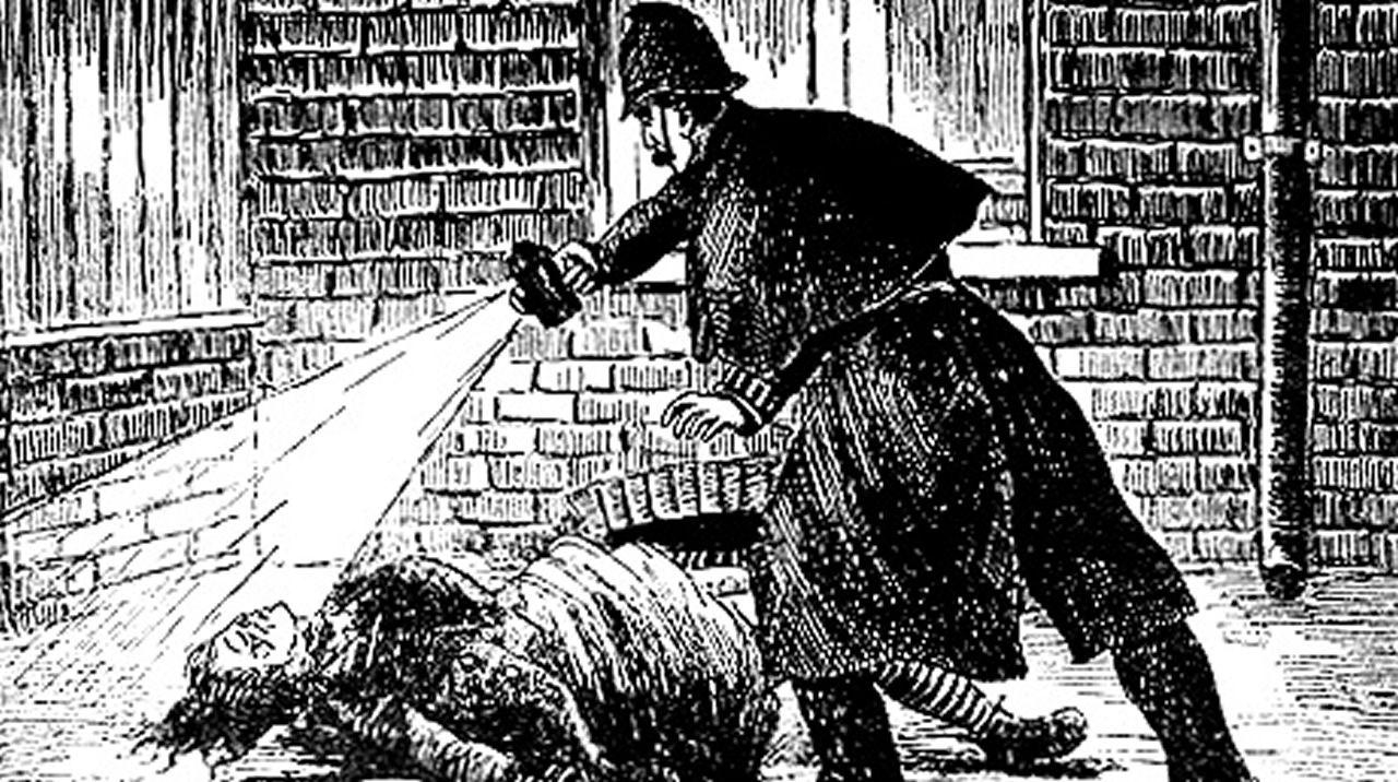.El semanario Police News ilustraba el caso con dibujos del hallazgo de las víctimas