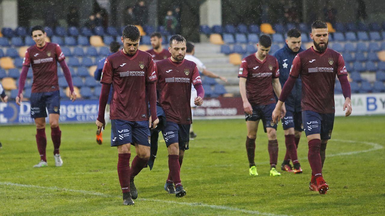 Pontevedra CF - Rayo Majadaonda.