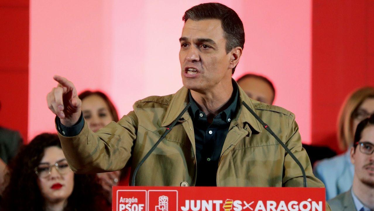 PP, Ciudadanos y Vox, juntos enuna manifestación este domingo en Madrid.Marlis González fue propuesta por la agrupación Madrid Osa