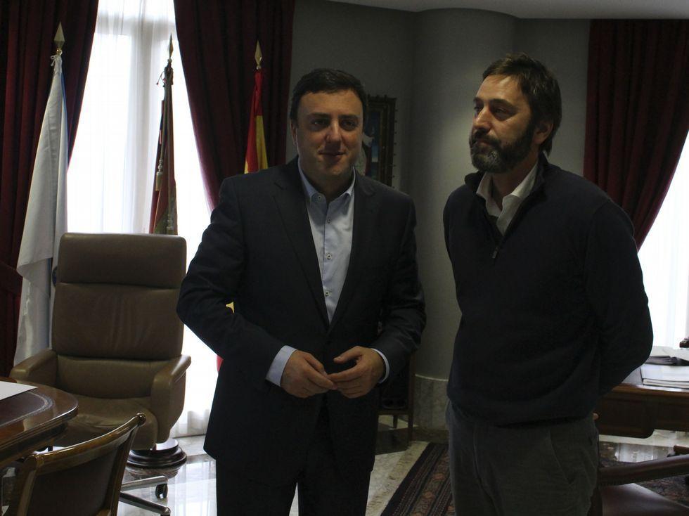 .Gónzález Formoso se reunió con el alcalde de Vilasantar.