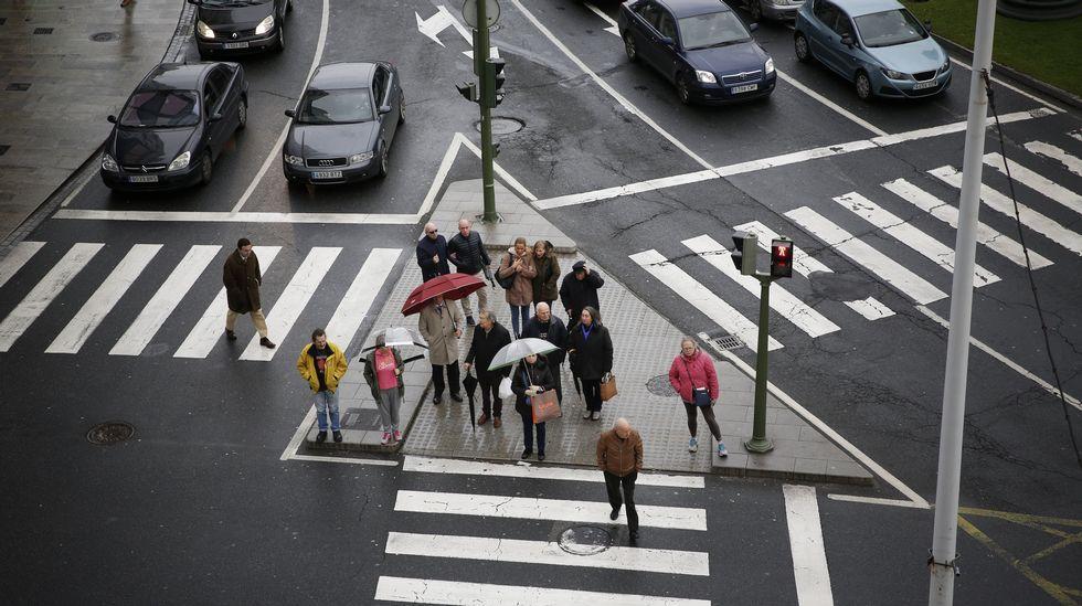 El tráfico en las ciudades (coches)