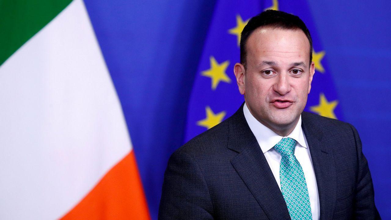 | REUTERS.El primer ministro Irlandés Leo Varadkar