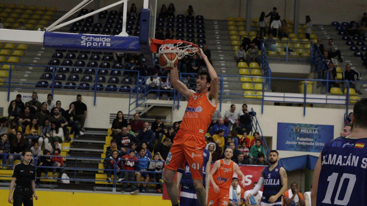 Sergio Olmos, en el Melilla-Leyma