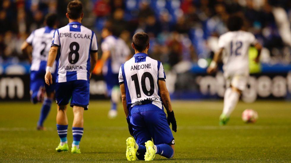 Las mejores fotos del Deportivo-Real Madrid.