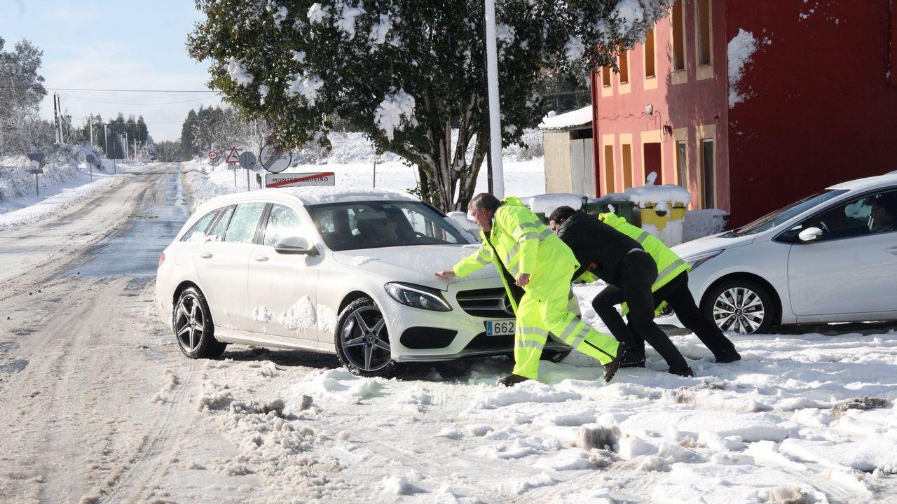 Nieve en Montesalgueiro