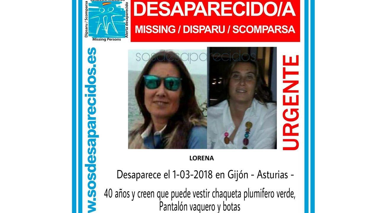 La mujer desaparecida en Gijón