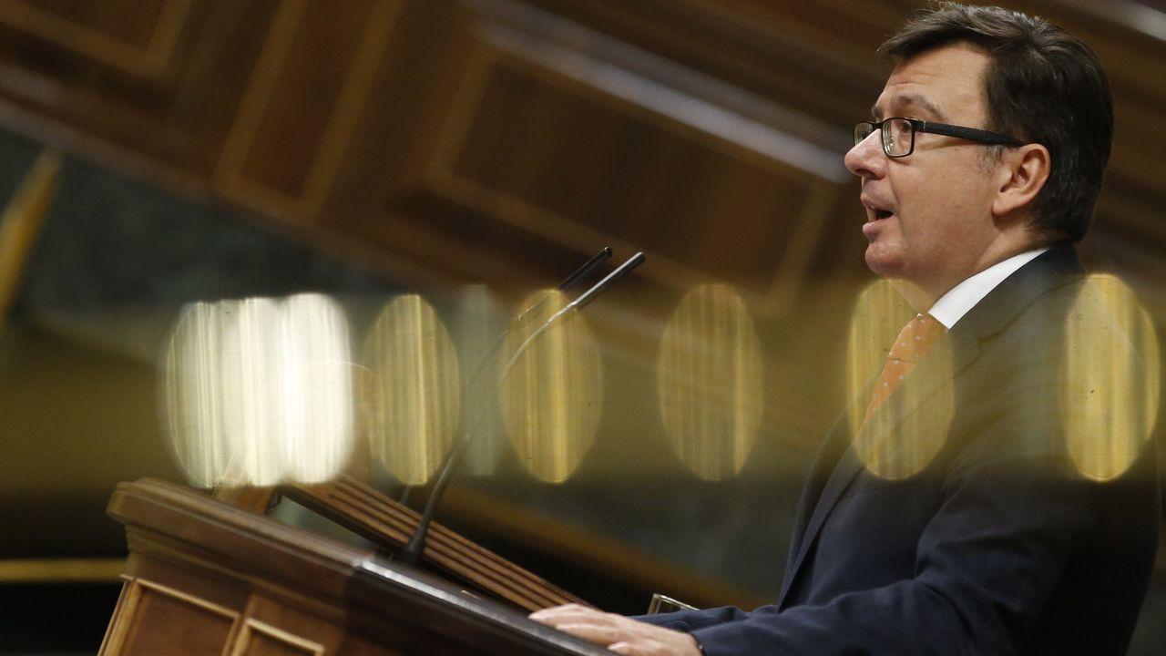 El ministro de Economia, Román Escolano