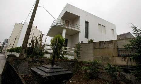 E jardín de la casa de Rosalía de Castro, también protegido, fue cercenado por una tala hace años.