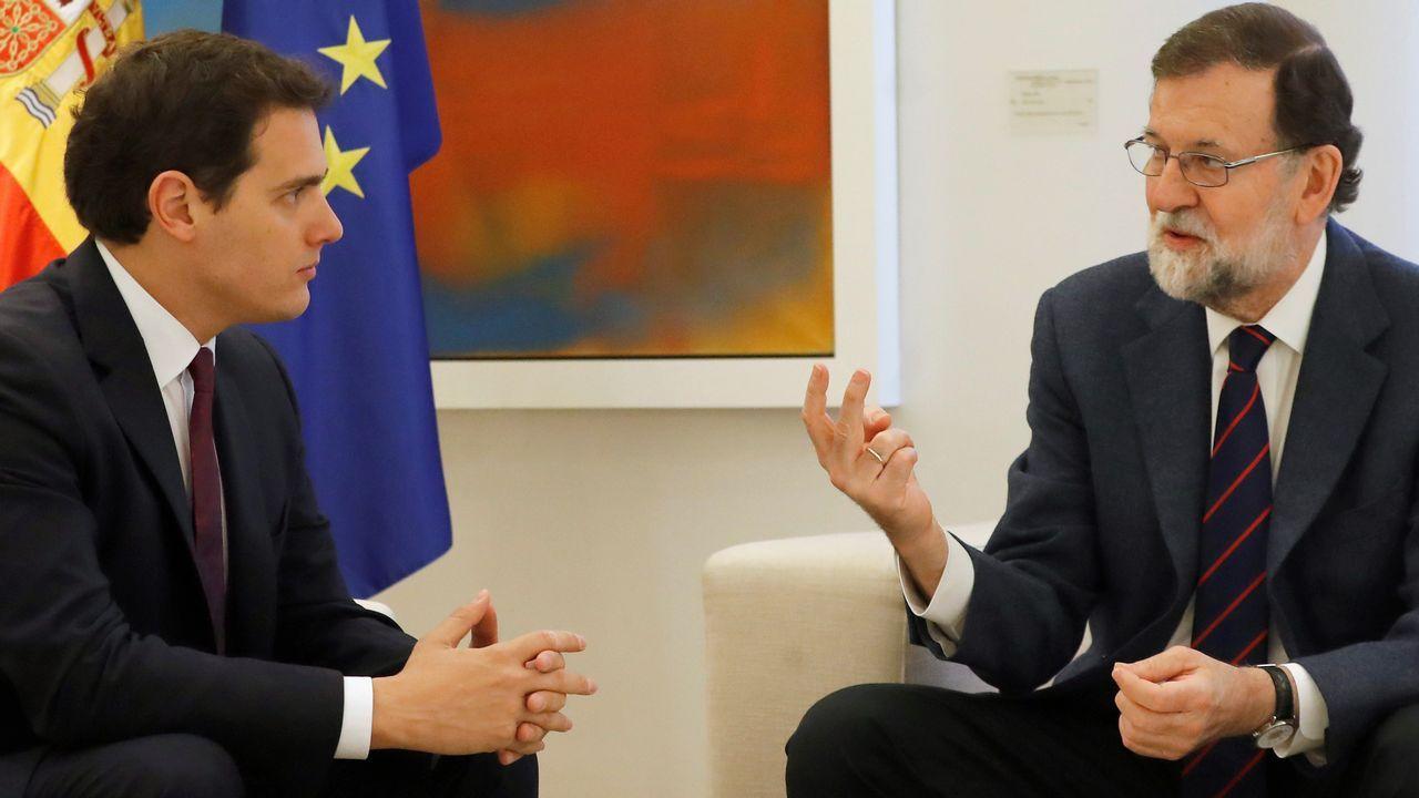 Rivera sobre Cataluña: «Hay que actuar de manera serena, efectiva y clara».Puigdemont, hoy en Berlín