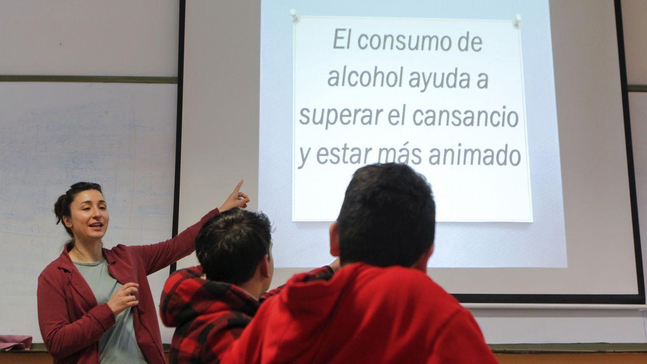Pico desterró falsas creencias con sentencias que los alumnos debían clasificar como «falso» o «verdadero»