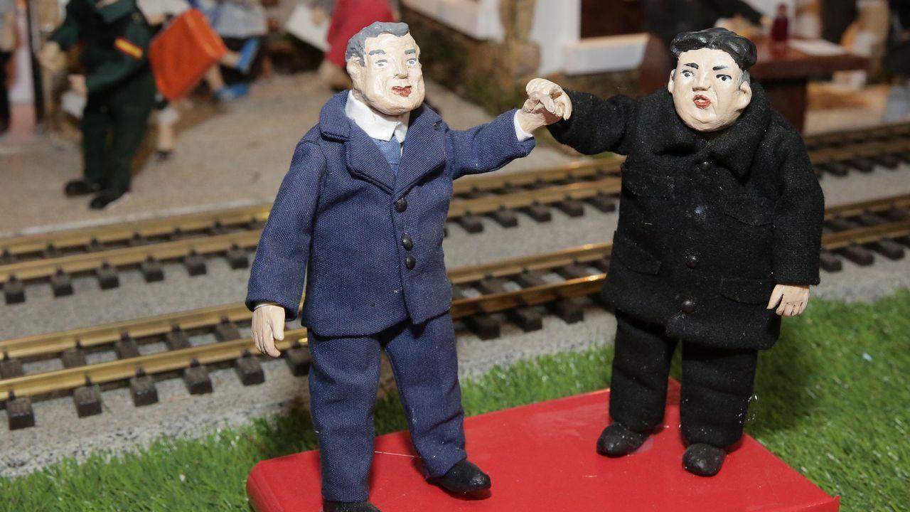Los presidentes de Corea del Sur y Corea del Norte