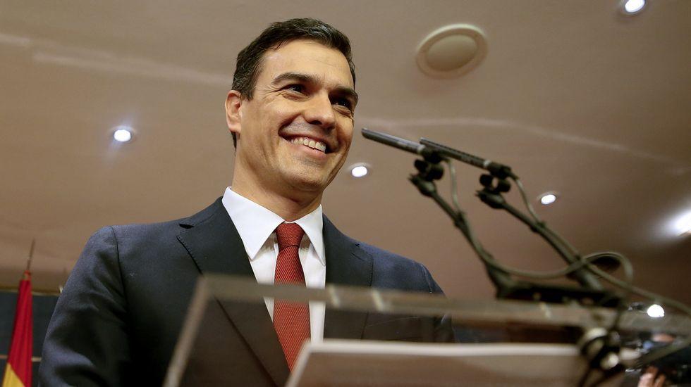 Pedro Sánchez asegura que va a «asumir la responsabilidad» de formar gobierno.