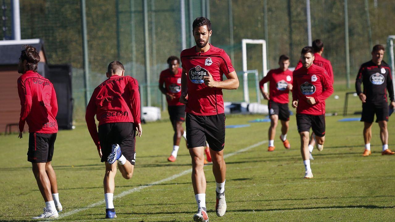 Mallorca - Deportivo en imágenes.Marí considera que este es el camino del ascenso