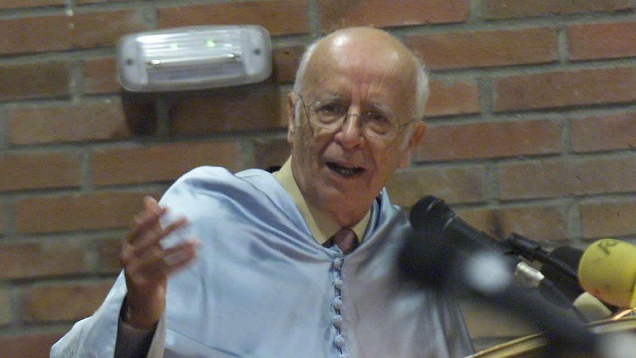 Fotografía de archivo de Emilio Lledó