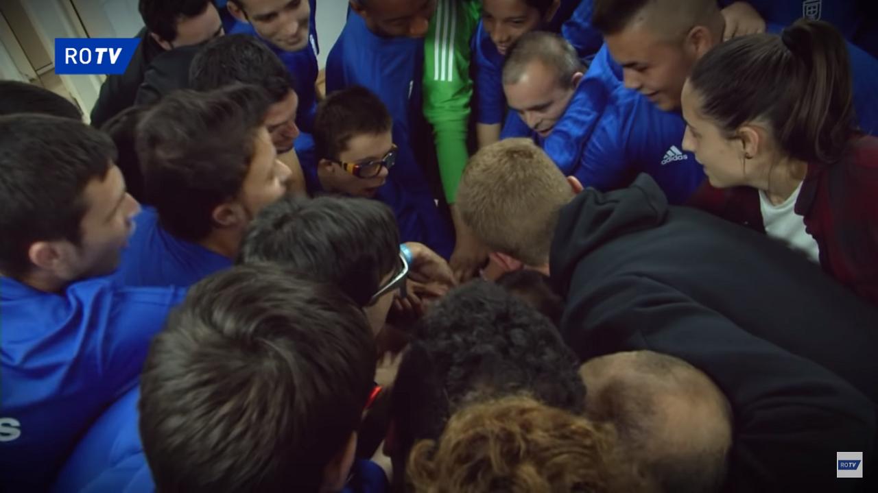Mossa e Isina con el Real Oviedo Genuine