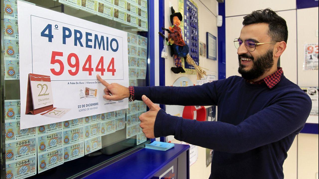 Rodeiro, el concello con sesenta jamones por cada vecino