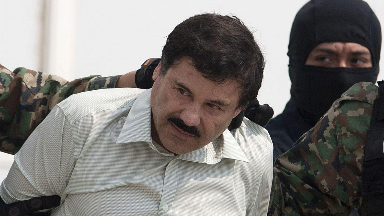 El líder del cártel mexicano de Sinaloa, Joaquin «El Chapo» Guzmán
