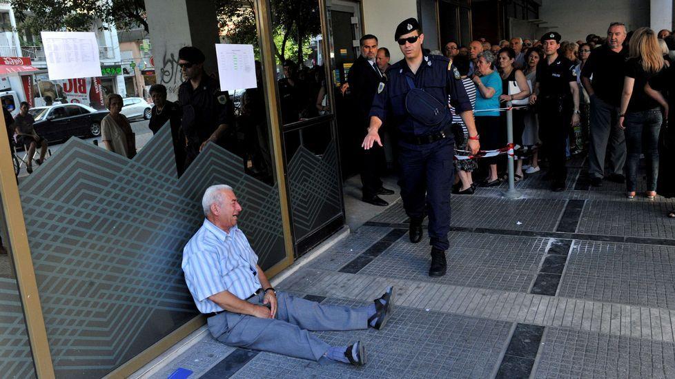 Protesta a favor de Grecia.Protesta a favor de Grecia