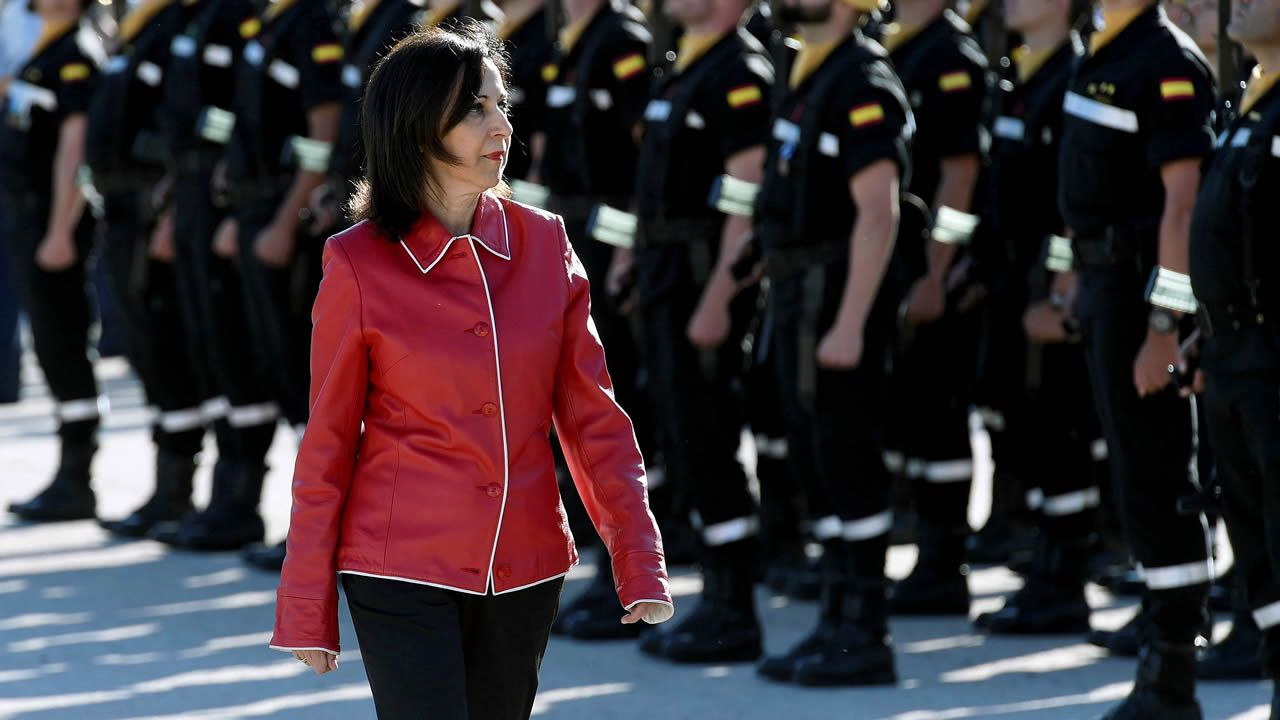.Margarita Robles, ministra de Defensa