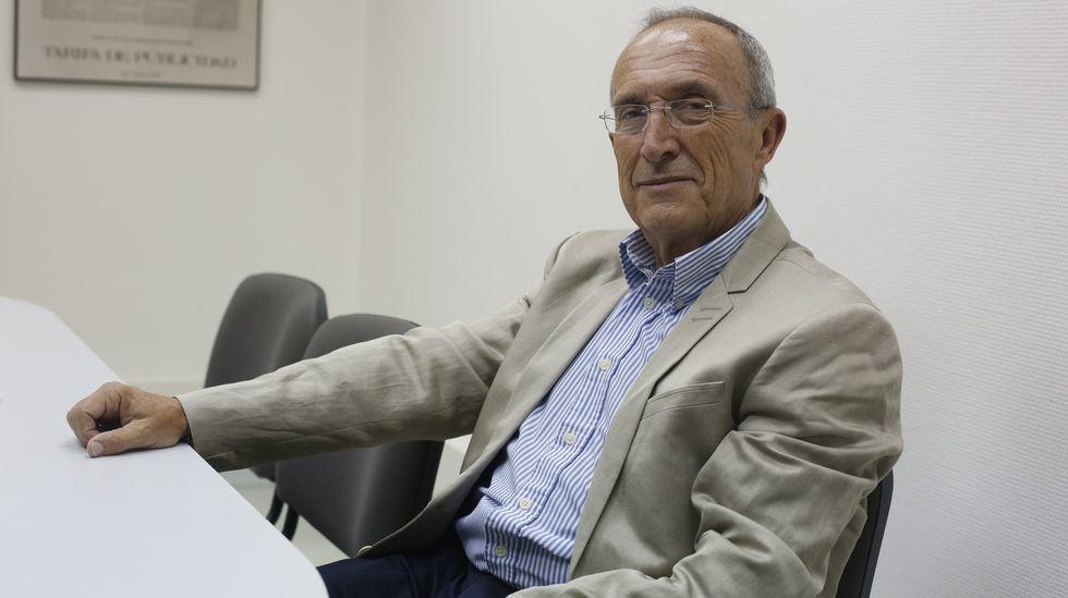Manuel Baelo imparte clase en Sevilla pero visita con asiduidad Santa Cristina.