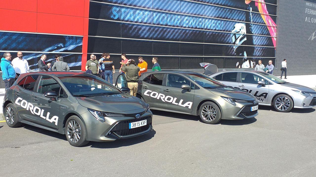 Amigos y clientes del concesionario han podido conocer de primera mano el desempeño del nuevo Corolla