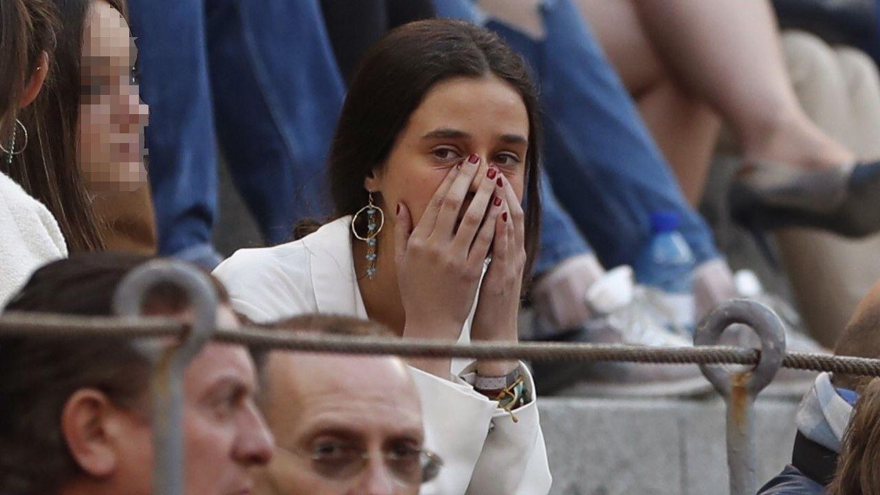 Froilán y Victoria Federica, grandes apoyos de Gonzalo Caballero.