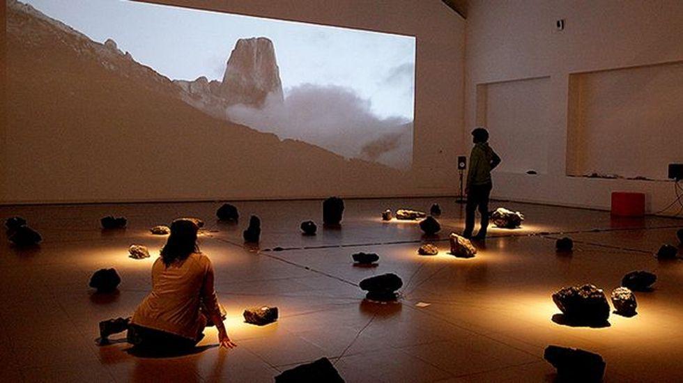 La instalación sonora Menhir, de Coco Moya e Iván Cebrián