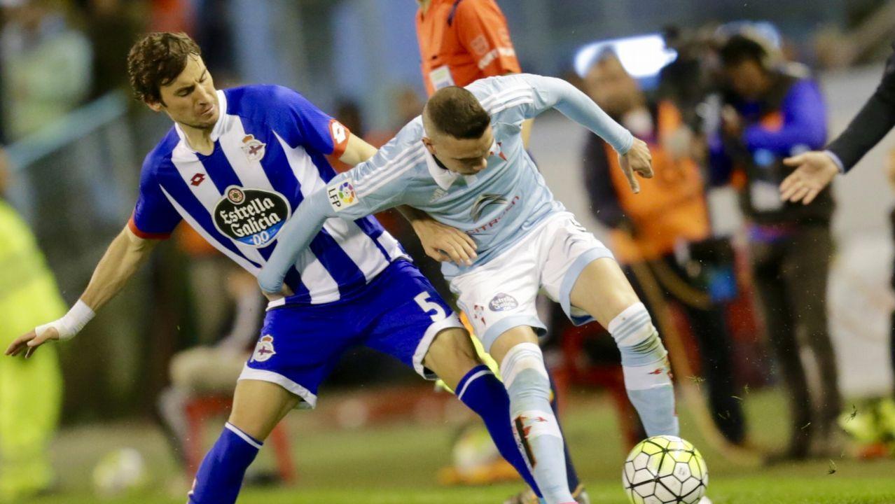 186 - Deportivo-Celta (1-1) de Primera el 2 de abril del 2016