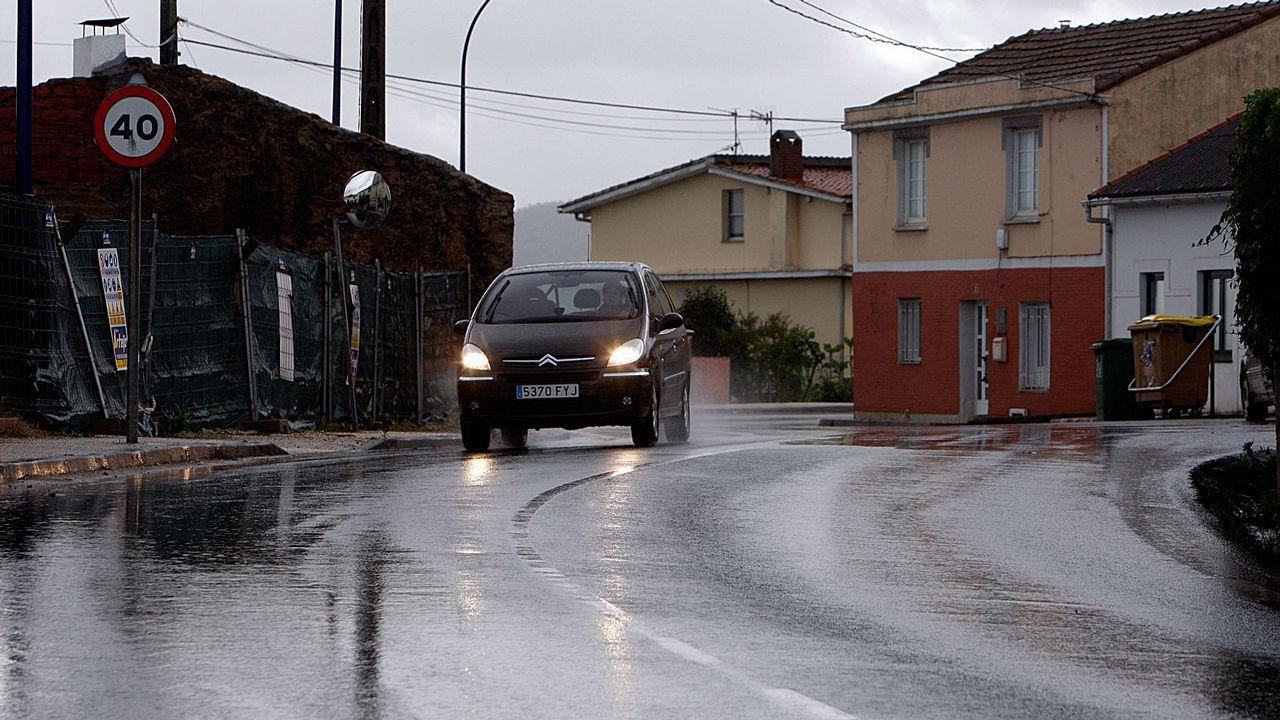 Accidente con una muerta en Cotobade.Monte Naranco, Oviedo