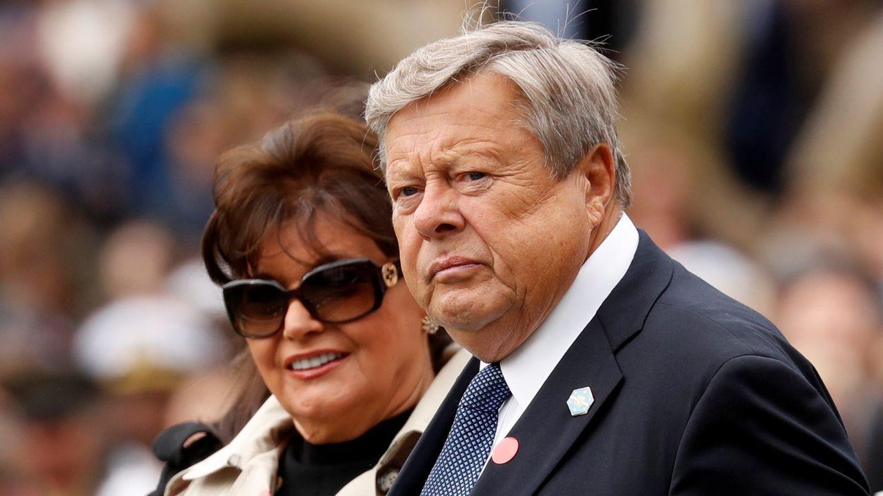 .Amalija y Viktor Knavs, padres de Melania Trump