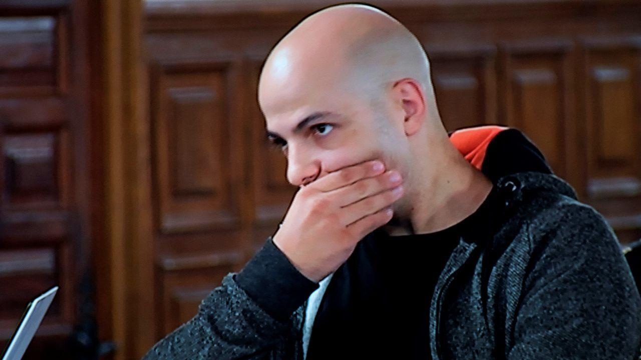 Sergio Morate impasible durante el juicio