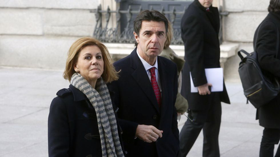 Soria, entrando en el Congreso el pasado mes de febrero