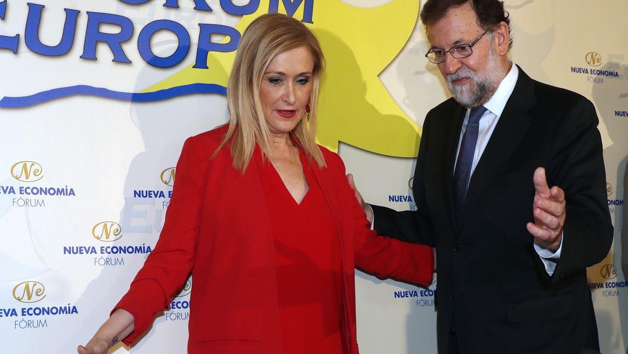 El PP rinde homenaje a Miguel Ángel Blanco.Ignacio González, a su llegada esta mañana a la Audiencia Nacional