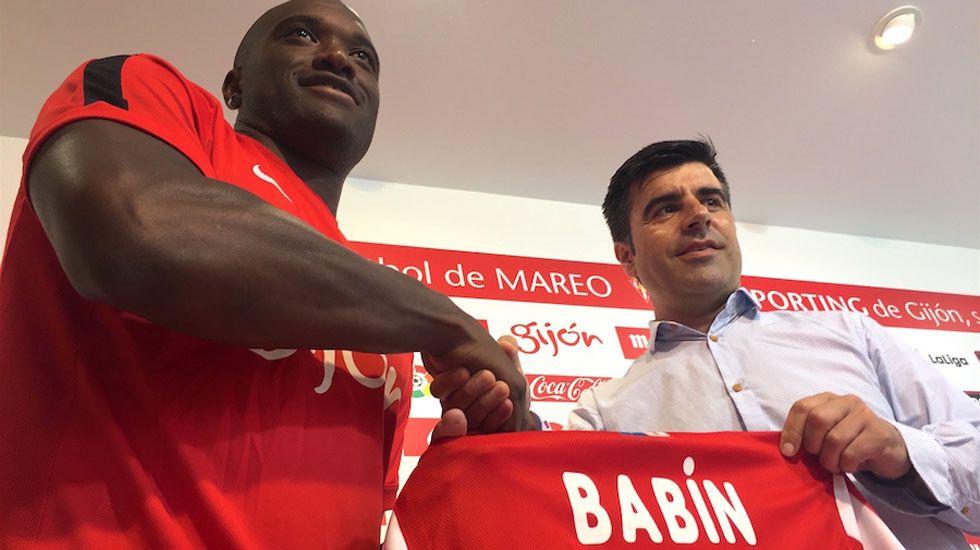 Jean-Sylvain Babin, junto a Nico Rodríguez