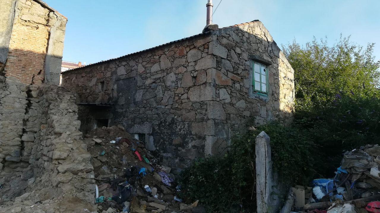Incendio en As Eiras.